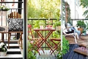 Mit kezdjünk egy kicsi erkéllyel? 6 zseniális ötlet