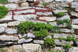 Hogyan építsünk támfalat kövekből?