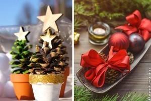 Ötletes fenyőtoboz-karácsonyfa és egyéb tobozdíszek házilag