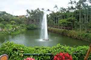 A kerti tó vízének mozgatása