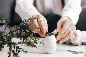 Minták és ötletek tojásfestéshez