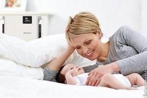 A páratartalom optimális szinten tartása, hogyha csecsemő érkezik a családba